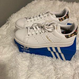 Adidas Stan Smith Floral Classic Allstars NWT